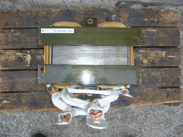 上部から見た単巻変圧器
