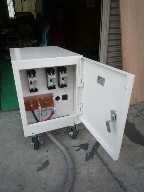 多巻線電源変圧器 各種回路ブレーカー付き
