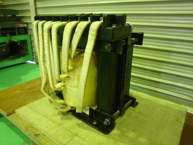 変圧器のコイル巻替え修理