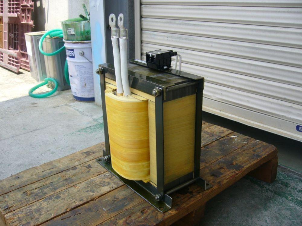 盤内収納 制御電源トランス SCRr制御対応変圧器