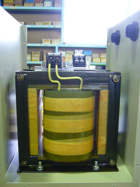 低圧側200V トランス配線