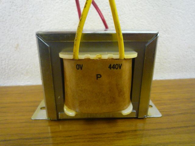 入力440V黄色ライン トランス