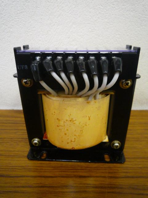 温度ヒューズ内蔵トランス リスク管理を変圧器で行っている