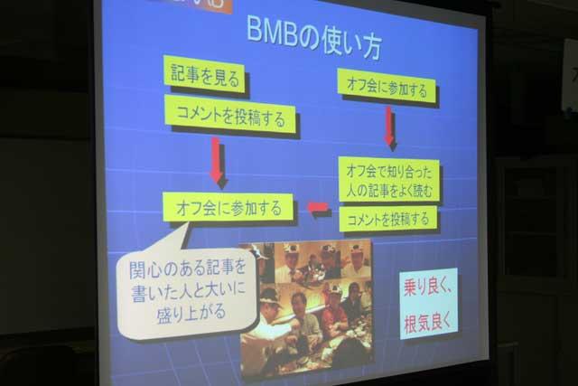 BMB使い方