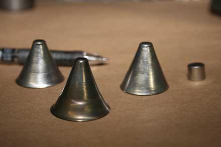 ヘラ絞り製品