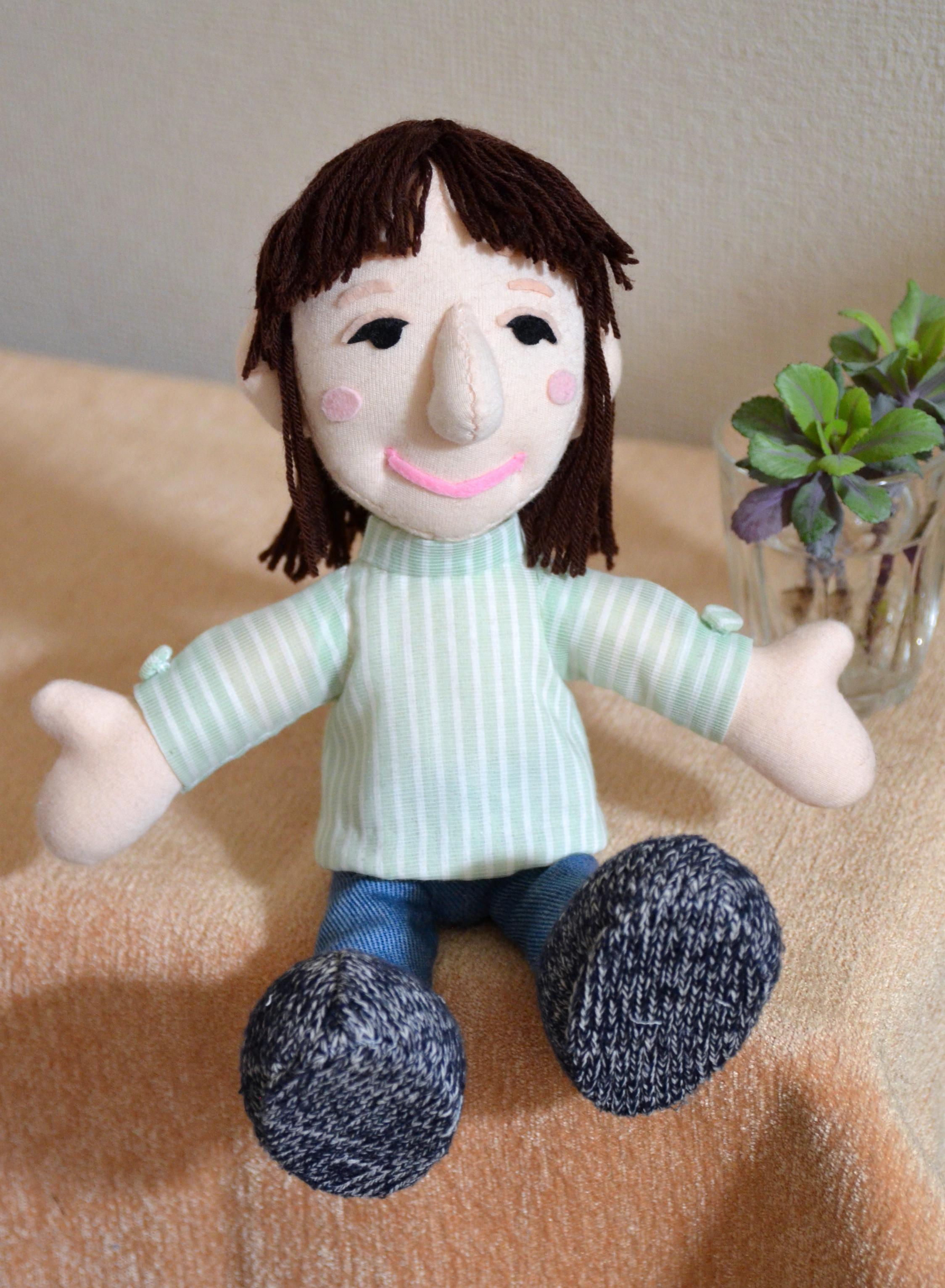 おもかげ人形を作成。二人でツーリングに~