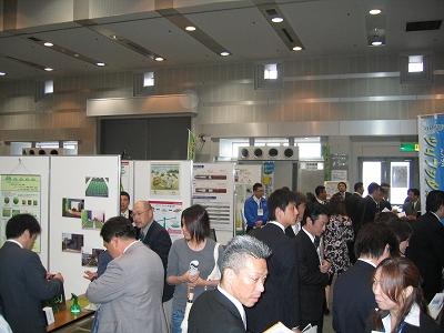 SAKAI環境ビジネスフェアの会場風景