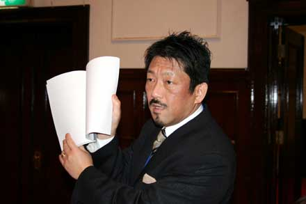 村田氏による評価と表彰