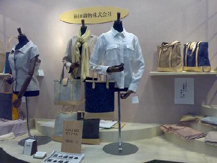 マッチングによる開発事例トートバック(東京ギフトショー展示)