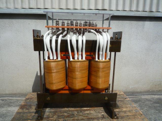 110kW誘導電動機用始動用リアクトル