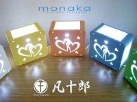 BMB企画展を6月にクリエイションコア東大阪で開催しましたが、この企画展に見に来られた(株)園田製作所さんが、凡十郎オフィスにデザインを依頼されました。作品名は「monaka」モナカです。