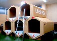 BMBマッチング成果:「災害避難所用ライフカプセルルーム」