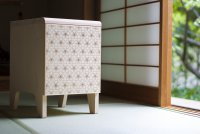 BMBマッチング成果:レーザー加工技術で柄を選択できる家具ブランド「BRANWOOD」のデザイン開発