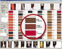 画像から色の割合の多いもの順に抽出する機能です